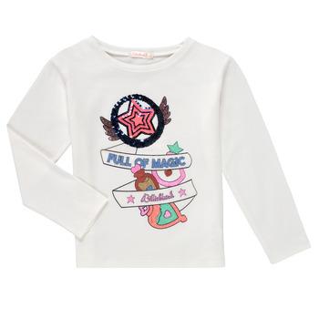 textil Niña Camisetas manga larga Billieblush FADILA Blanco