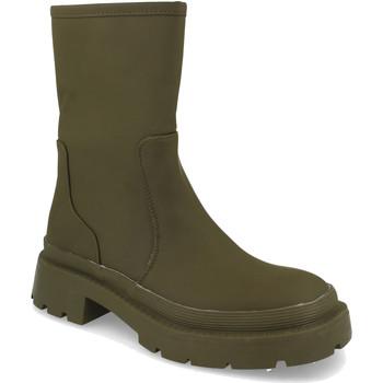 Zapatos Mujer Botas de caña baja H&d YZ19-338 Verde