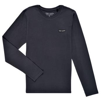 textil Niño Camisetas manga larga Teddy Smith T-NARK ML Marino