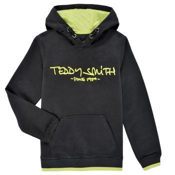 textil Niño Sudaderas Teddy Smith SICLASS HOODY Negro