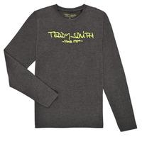 textil Niño Camisetas manga larga Teddy Smith TICLASS3 ML Gris