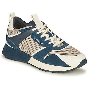 Zapatos Hombre Zapatillas bajas MICHAEL Michael Kors THEO Marino / Blanco