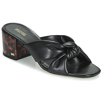 Zapatos Mujer Zuecos (Mules) MICHAEL Michael Kors JOSIE Negro