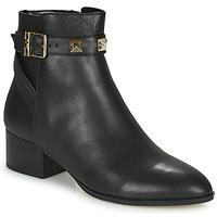Zapatos Mujer Botas de caña baja MICHAEL Michael Kors BRITTON Negro