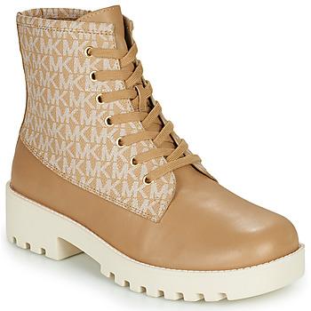 Zapatos Mujer Botas de caña baja MICHAEL Michael Kors JAX Camel