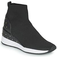 Zapatos Mujer Zapatillas altas MICHAEL Michael Kors SKYLE Negro