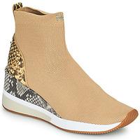 Zapatos Mujer Zapatillas altas MICHAEL Michael Kors SKYLER Camel