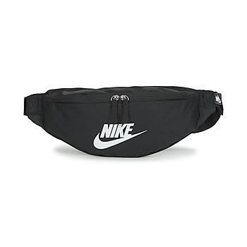 Bolsos Bolso banana Nike NK HERITAGE WAISTPACK - FA22 Negro / Blanco