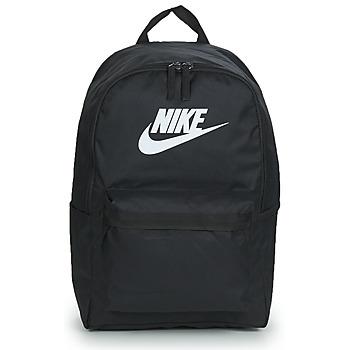 Bolsos Mochila Nike NIKE HERITAGE Negro / Blanco