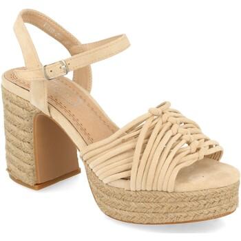 Zapatos Mujer Sandalias H&d YZ19-299 Beige