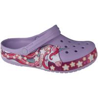 Zapatos Niños Zuecos (Clogs) Crocs Fun Lab Unicorn Band Clog Violet
