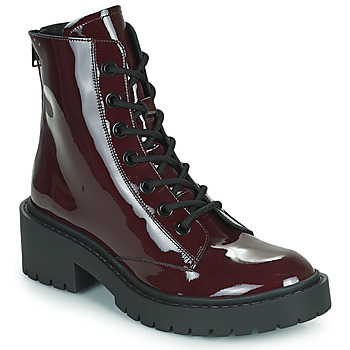 Zapatos Mujer Botines Kenzo PIKE LACE-UP BOOT Burdeo