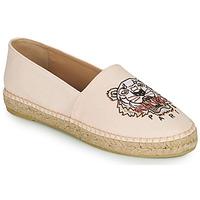 Zapatos Mujer Alpargatas Kenzo ESPADRILLES CLASSIC TIGER Rosa / Nude