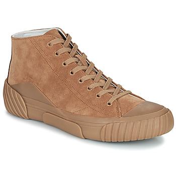 Zapatos Hombre Zapatillas altas Kenzo TIGER CREST HIGH TOP SNEAKERS Camel