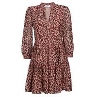textil Mujer Vestidos cortos Liu Jo WF1019 Leopardo