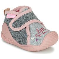 Zapatos Niña Pantuflas Biomecanics BIOHOME Gris / Rosa