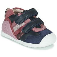 Zapatos Niña Zapatillas bajas Biomecanics BIOGATEO SPORT Marino / Rosa