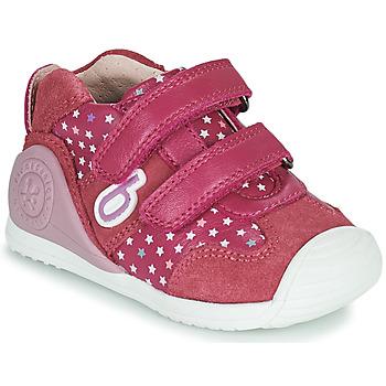Zapatos Niña Zapatillas bajas Biomecanics BIOGATEO SPORT Rosa