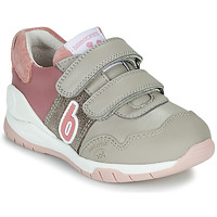 Zapatos Niña Zapatillas bajas Biomecanics BIOEVOLUTION SPORT Gris / Rosa