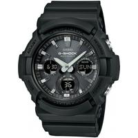 Relojes & Joyas Hombre Relojes mixtos analógico-digital Casio GAW-100B-1AER, Quartz, 52mm, 20ATM Negro