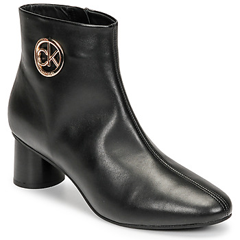 Zapatos Mujer Botas de caña baja Calvin Klein Jeans CYLINDER ANKLE BOOT Negro