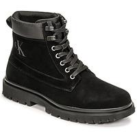 Zapatos Hombre Botas de caña baja Calvin Klein Jeans LUG MID LACEUP BOOT HIKE Negro