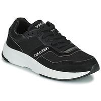Zapatos Hombre Zapatillas bajas Calvin Klein Jeans LOW TOP LACE UP MIX Negro