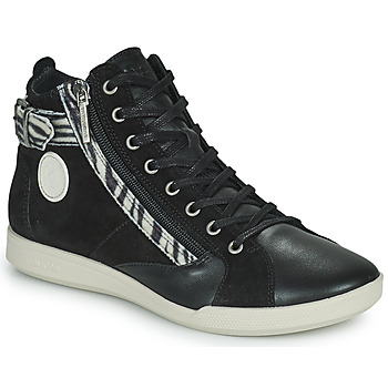 Zapatos Mujer Zapatillas altas Pataugas PALME Negro