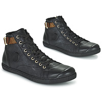 Zapatos Mujer Zapatillas altas Pataugas LATSA Negro / Oro