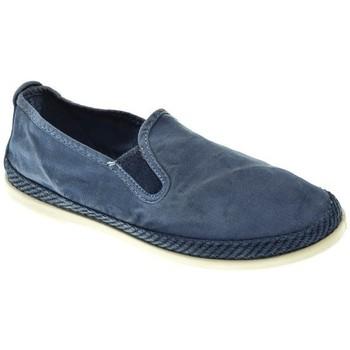Zapatos Mujer Alpargatas Potomac LONA MUJER  JEAN Azul