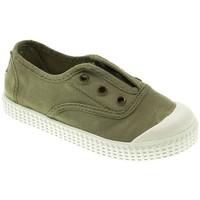 Zapatos Niño Tenis Potomac LONA NIÑO  KAKY Verde