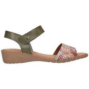 Zapatos Mujer Sandalias Valeria's 7151 Mujer Kaki vert