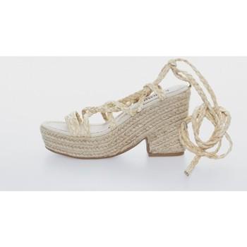 Zapatos Mujer Sandalias Kamome C1300 Beige