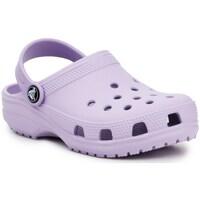 Zapatos Niños Zuecos (Clogs) Crocs Classic Clog K Violeta