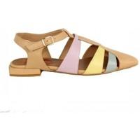 Zapatos Mujer Sandalias Lolas ZAPATO  TIPO CANGREJERA MODELO LA SIRENITA Multicolor