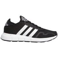 Zapatos Niños Zapatillas bajas adidas Originals J Swift Runx Negros