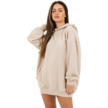 textil Mujer Sudaderas Sixth June Robe sweat Femme beige