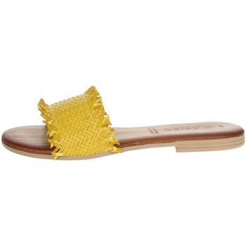Zapatos Mujer Zuecos (Mules) Dorea MH101 Amarillo