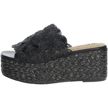Zapatos Mujer Zuecos (Mules) Keys K-4860 Negro