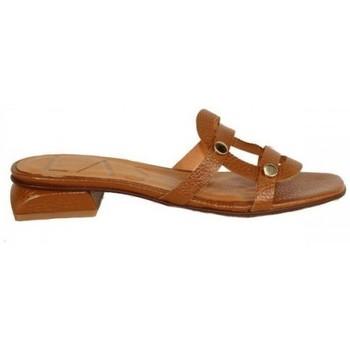 Zapatos Mujer Zuecos (Mules) Lolas SANDALIA  CON APLIQUES Multicolor