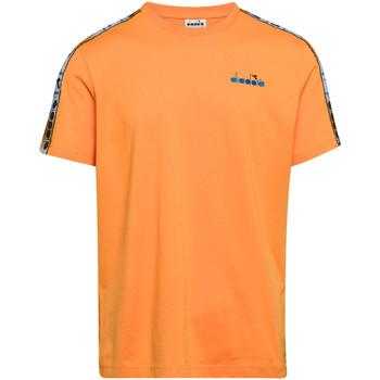 textil Hombre Camisetas manga corta Diadora 502176085 Naranja