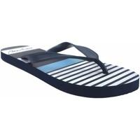 Zapatos Hombre Chanclas Kelara Playa caballero  12024 azul Azul