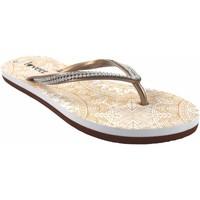 Zapatos Mujer Multideporte Kelara Playa señora  k12009 oro Oro