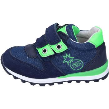 Zapatos Niño Zapatillas bajas Enrico Coveri BJ973 Azul