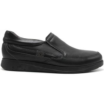 Zapatos Hombre Mocasín Fluchos F0051 MALLORCA MOCASIN NEGRO