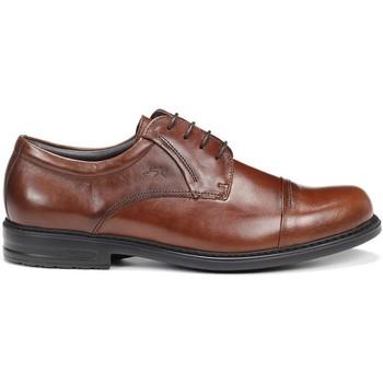 Zapatos Hombre Derbie Fluchos 8468 NATURAL SIMON STK MARRON