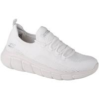 Zapatos Mujer Zapatillas bajas Skechers Bobs Sport B Flex-Color Connect Blanc
