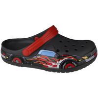 Zapatos Niños Zuecos (Clogs) Crocs Fun Lab Truck Band Clog Grise