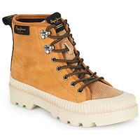 Zapatos Mujer Zapatillas altas Pepe jeans ASCOT DESERT Camel
