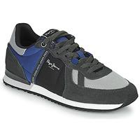 Zapatos Hombre Zapatillas bajas Pepe jeans TINKER ZERO TAPE Gris / Azul